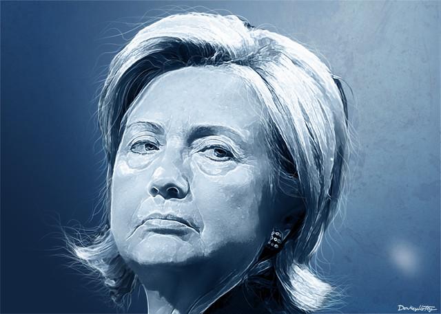 Hillary Clinton - Portrait