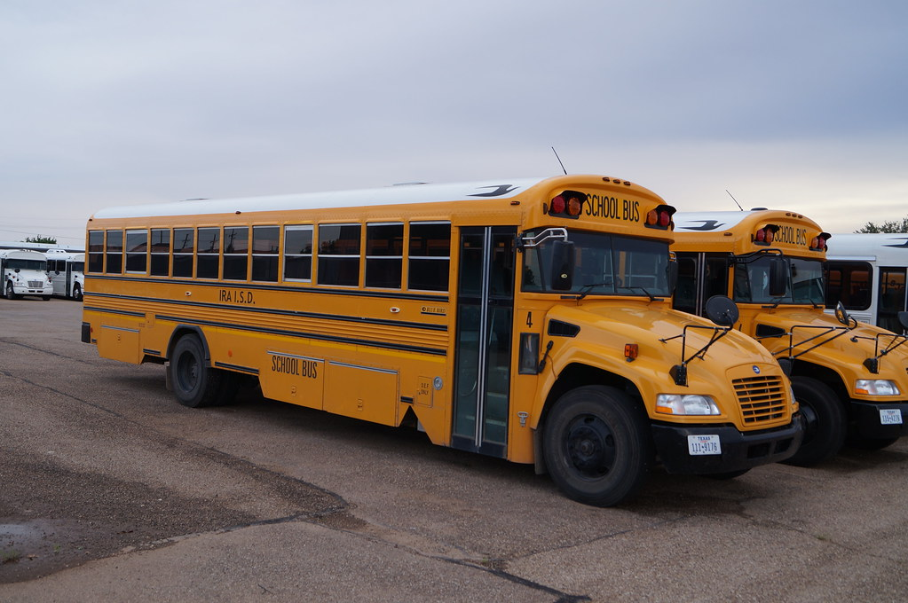 Blue Bird Bus >> Ira ISD Blue Bird Vision #4 | One of Ira ISD's school buses.… | Flickr