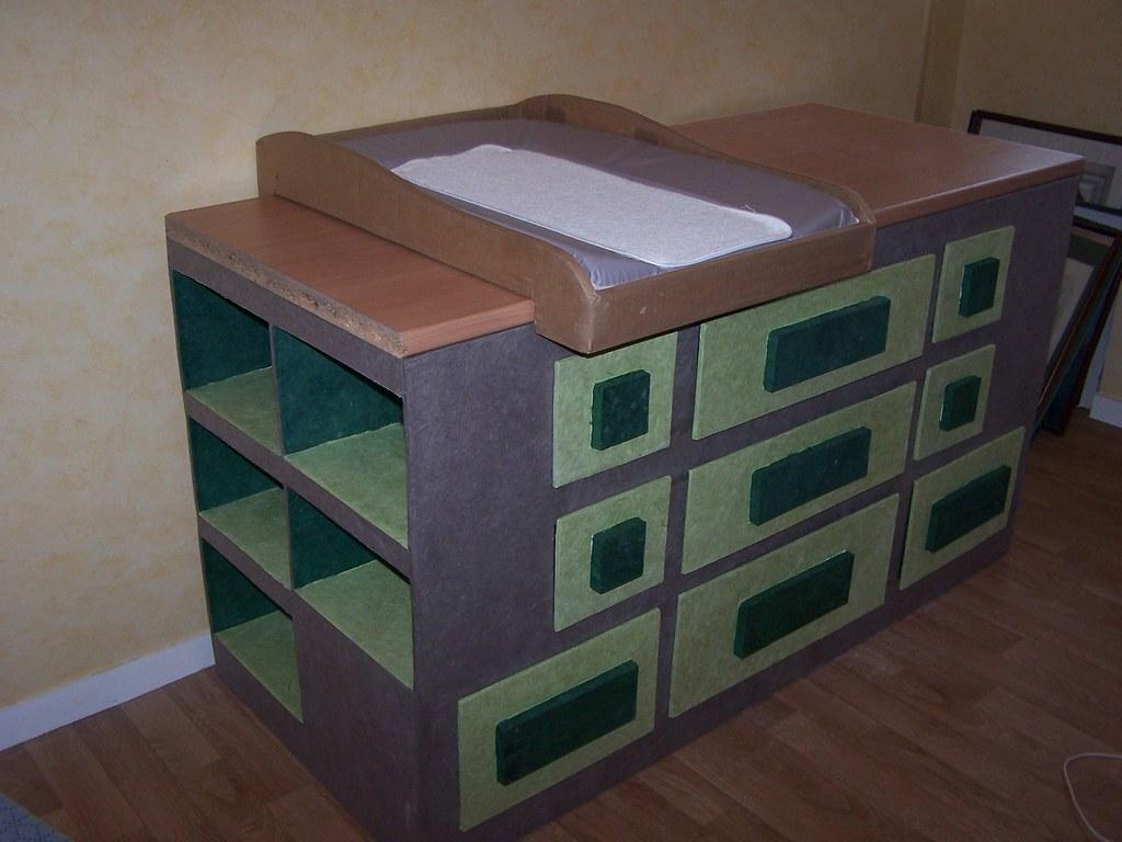 commode en carton commode en carton avec plan langer amandine avril flickr. Black Bedroom Furniture Sets. Home Design Ideas