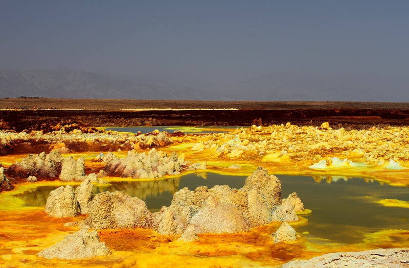 Dallol Volcano – The Hottest Place On The Planet