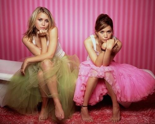 falda tul hermanas olsen