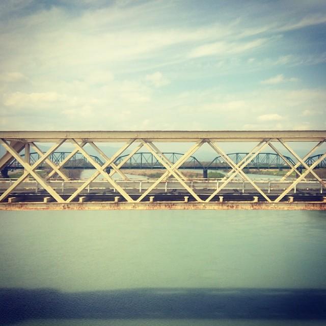 東海道線の橋梁は歩行者自転車 ...