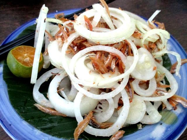 Payung Cafe fried ikan bilis