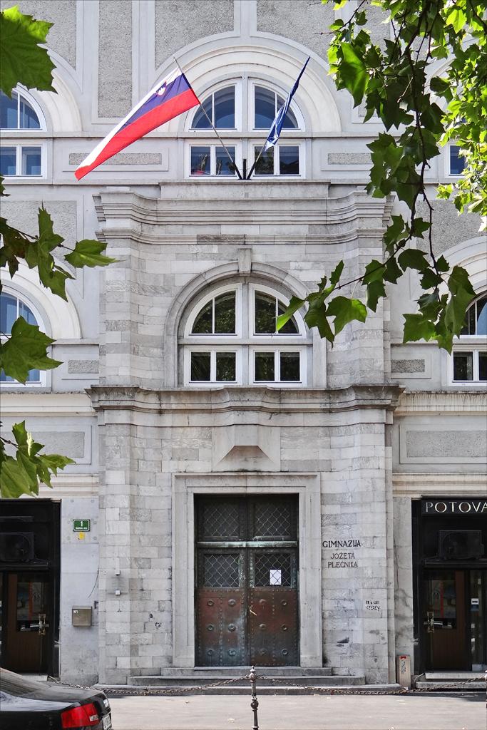 Le lyc e jo e ple nik ljubljana l 39 ancien lyc e des for Architecte 3d wikipedia