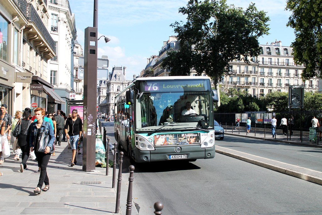 ratp paris bus 3162 76 bagnolet louise michel to louvre flickr. Black Bedroom Furniture Sets. Home Design Ideas