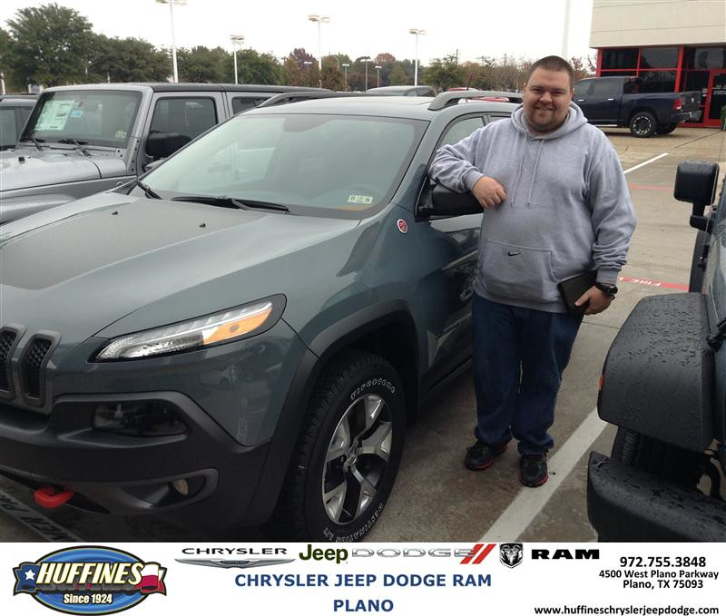 Thank You To Zachory Scott On Your New Jeep Cherokee Fro