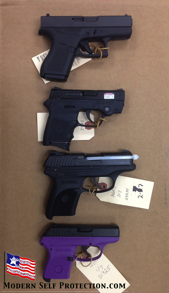 Glock 42, S&W Body Guard, Ruger LC380, Ruger LCP | Size ...