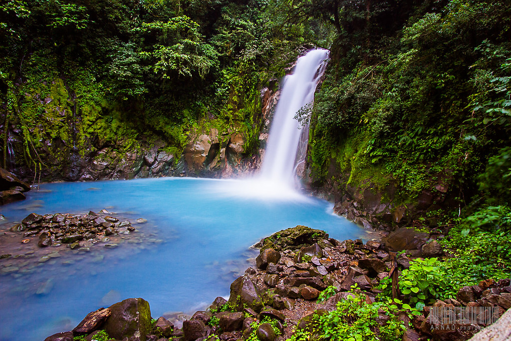Costa Rica Blue Lagoon Yes The Water Is Quot Blue It