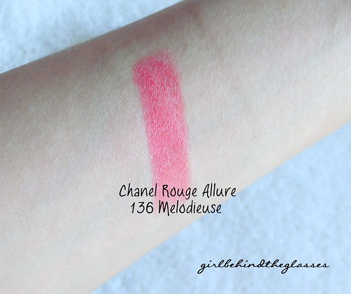 Chanel Melodieuse swatch