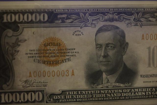 100,000 bill | ... $100000 Bill
