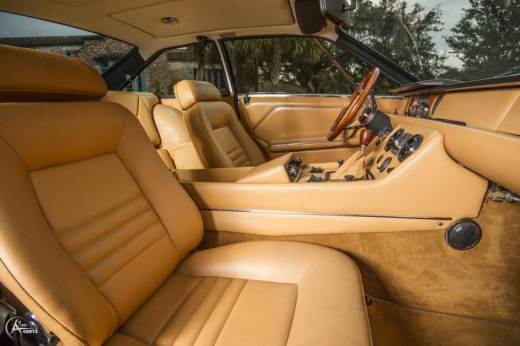 Lamborghini Jarama Interior 1972 Lamborghini Jarama 400 gt