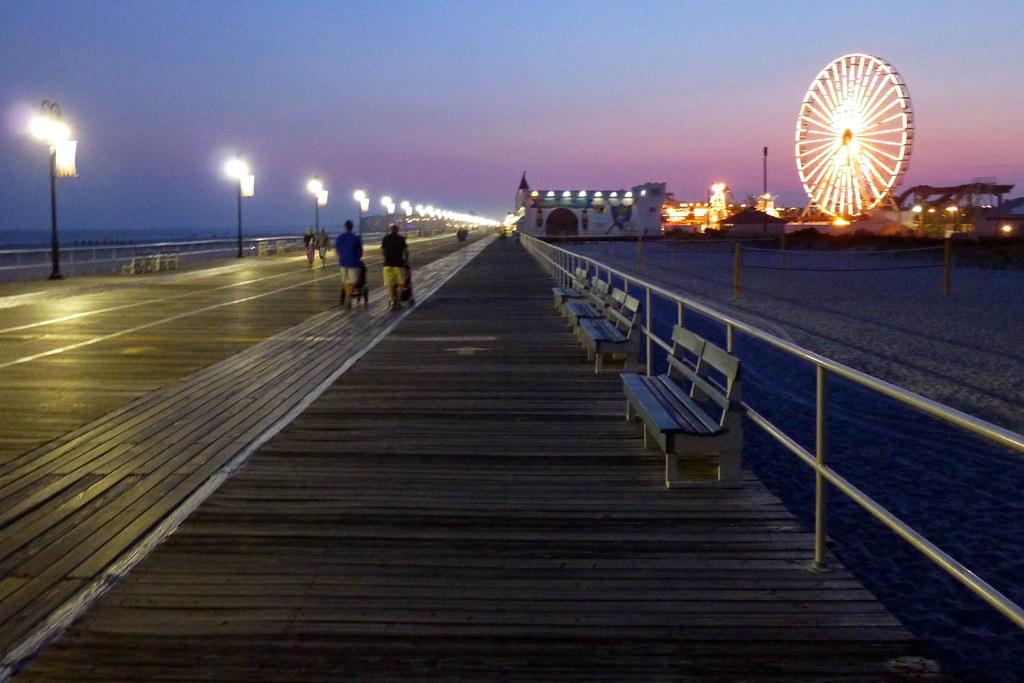 Ocean City Amusement Park On Boardwalk