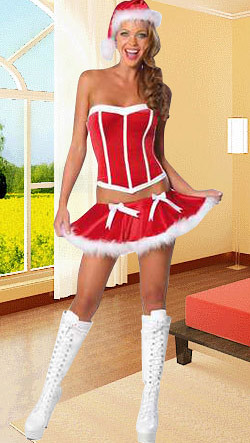 Damer fløjl juleferie kostume | Sexede Kostumer da.thdress.c… | Flickr