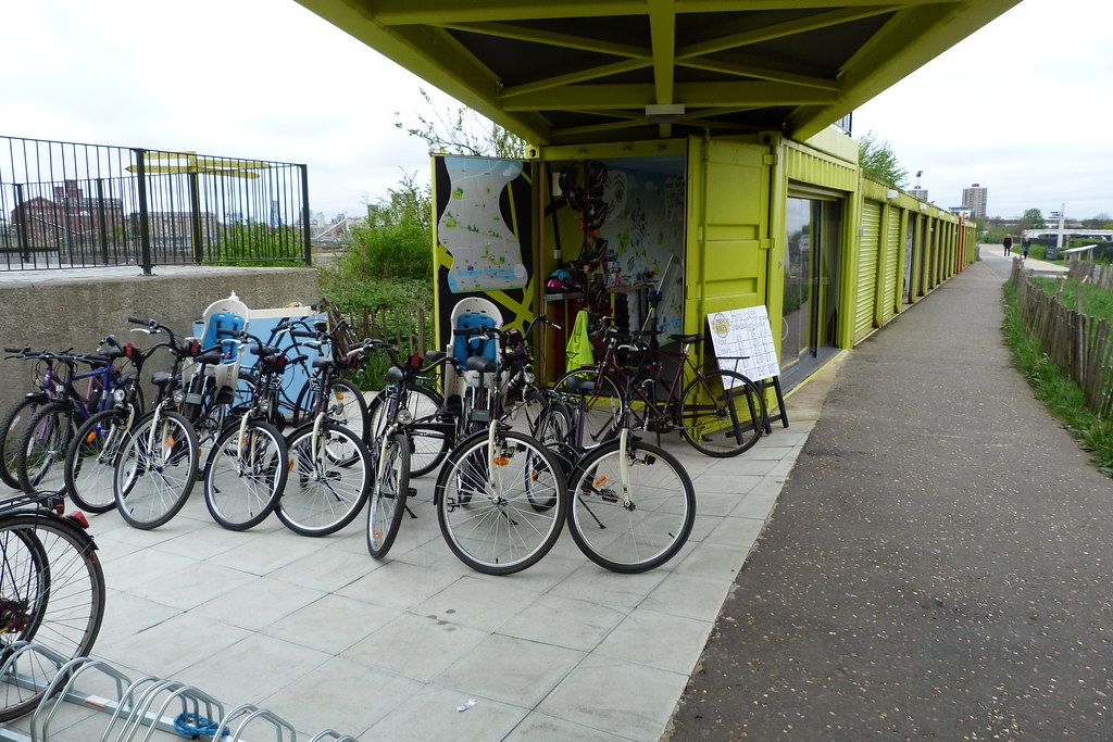 Bikes for hire!  At the View Tube  Gordon Joly  Flickr