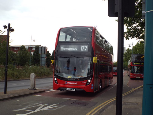 Brand new - Stagecoach Selkent 13061, BF15KGK in Plumstead on route 177 to Thamesmead