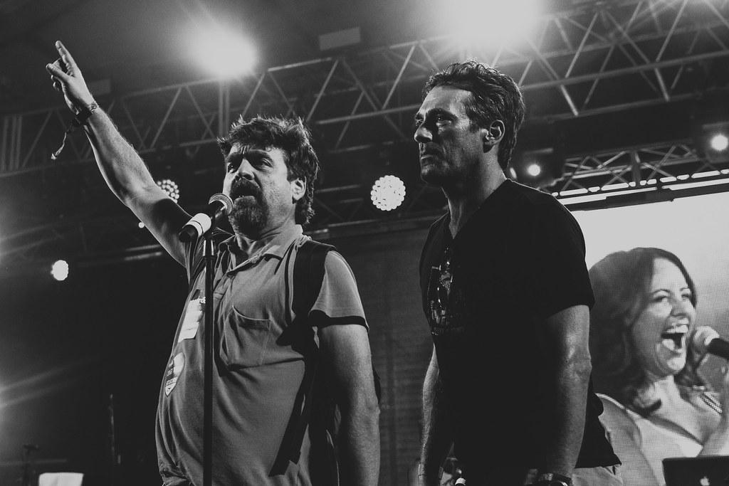 Zach Galifinakis and Jon Hamm at Superjam! @ Bonnaroo