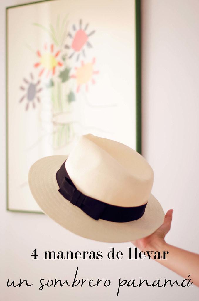 4 maneras de llevar un sombrero Panamá