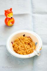 Puree de tomates, courgettes et poisson (recette pour bébés)