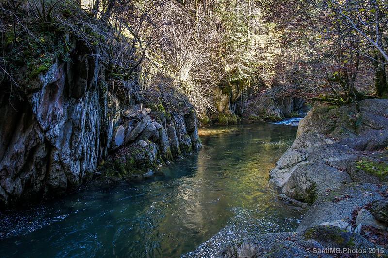 Río abajo de El Cubo