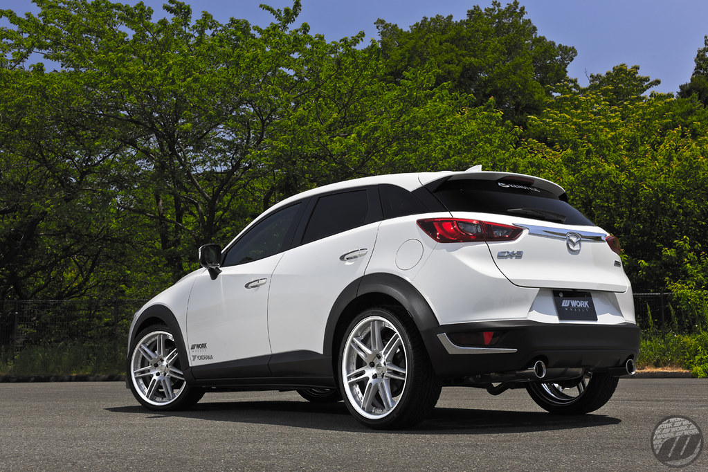 KEN STYLE Mazda CX3 on WORK Gnosis GR202 | F:20x8J +46mm ...
