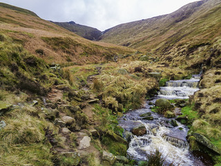 Lower section of Crowden Clough