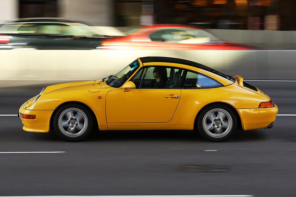 Porsche 993 Targa Admiralty Hong Kong A Very