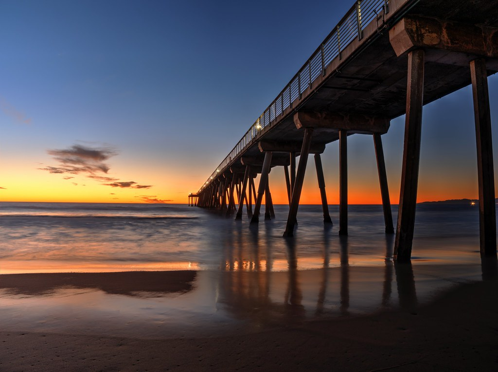 Hermosa Beach Pier Ca Flickr12days This Work Is