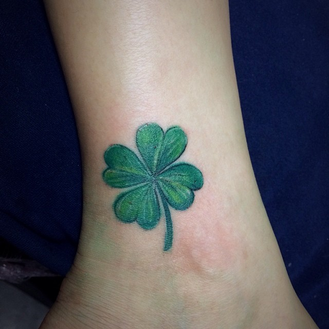 Four Leaf Clover tattoos  Vanishing Tattoo