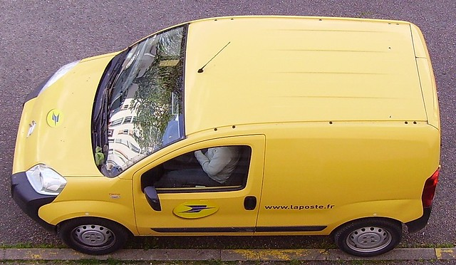 Citroën Berlingo de La Poste