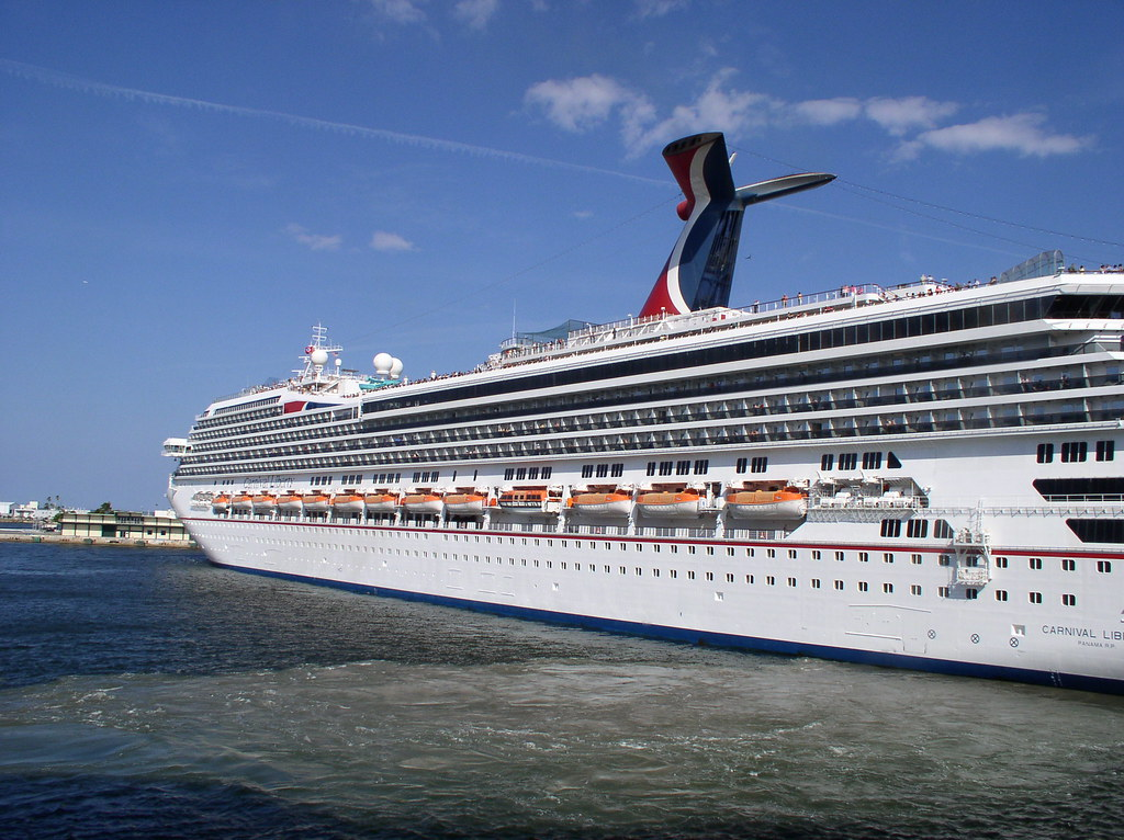 Radiance Of The Seas 001 A Carnival Liberty Cruise Ship