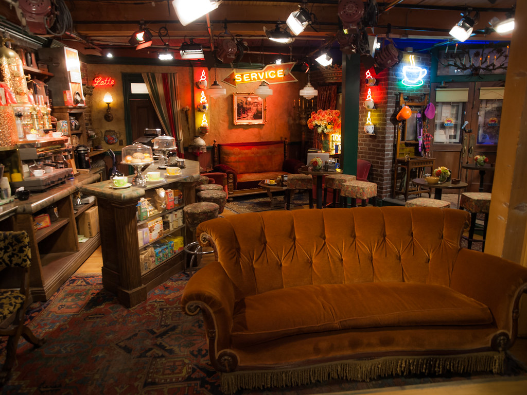 central perk the central perk set from friends on the