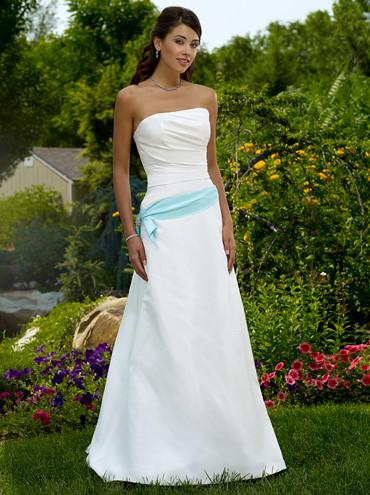 bustier robes de mariage de couleur ceinture bleue flickr photo sharing. Black Bedroom Furniture Sets. Home Design Ideas
