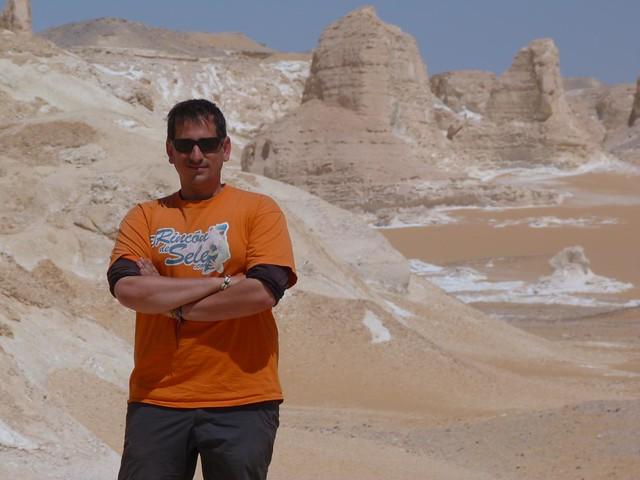 Sele en el Desierto Blanco de Egipto
