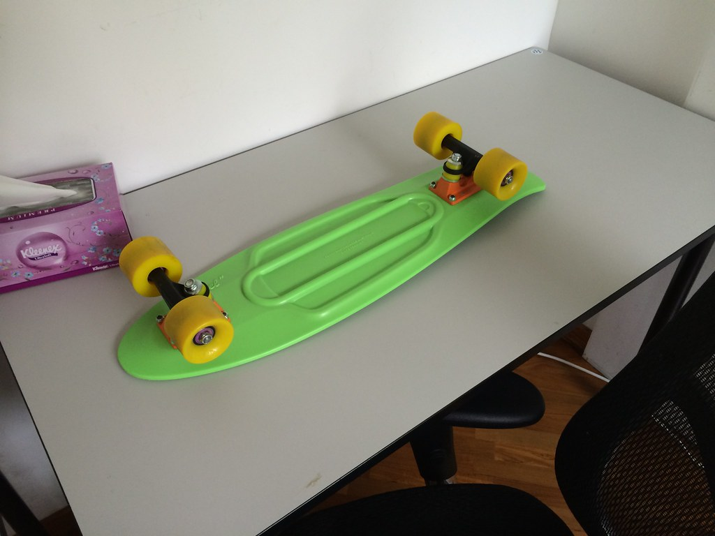 nickel penny board