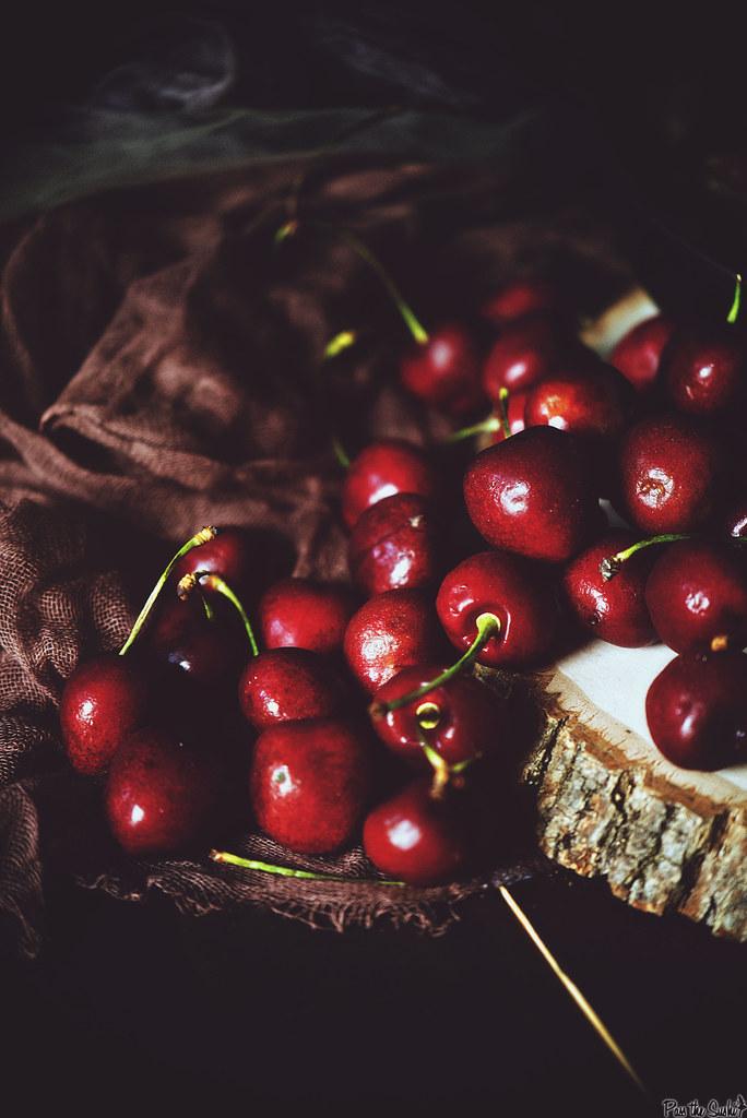 Campfire No Bake Cherry Crisp \ PasstheSushi.com