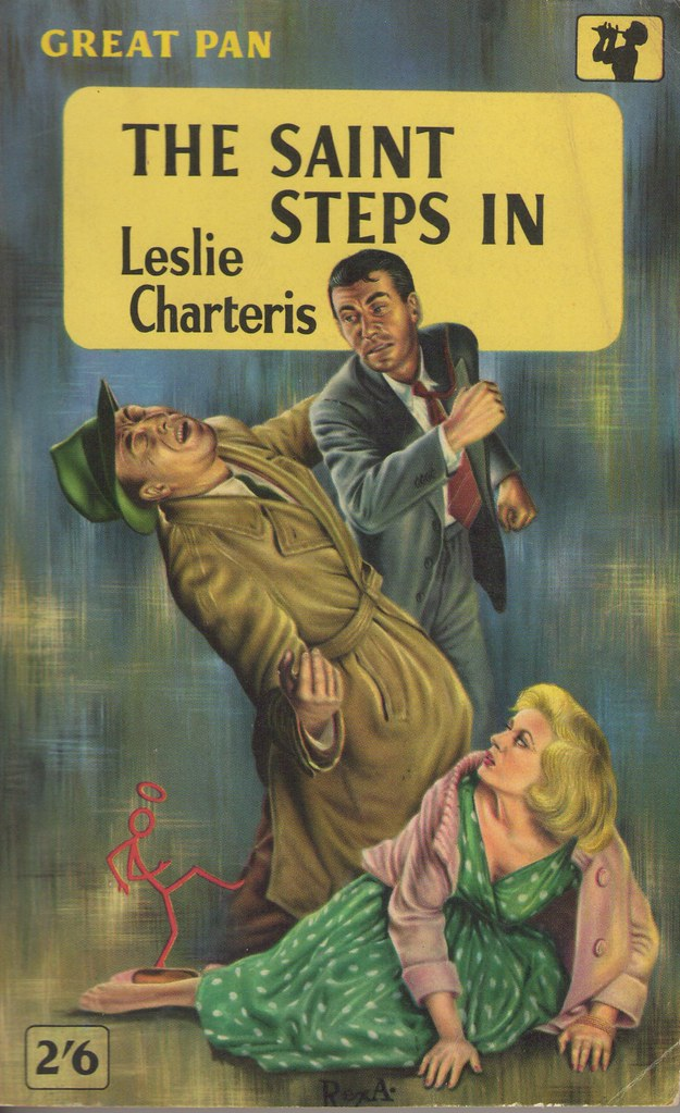 Charteris, Leslie. The Saint Steps In (London: Pan, 1958