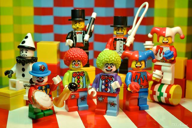 The LEGO Circus Troupe