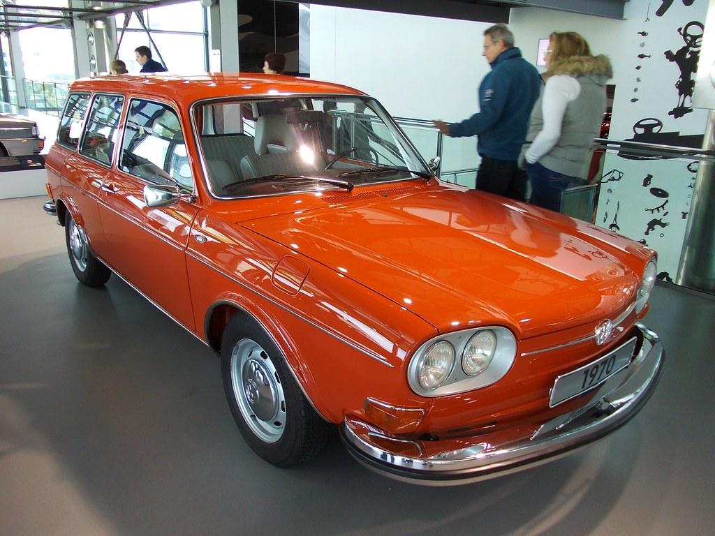 Vw Typ 4 411 Le Variant 1970 Zeithaus Autostadt