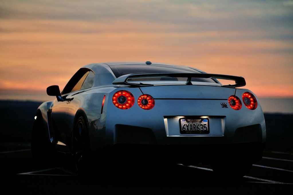 Nikon Nikkor 85mm 1 8k D800 Nissan Gtr Pacific Sunset Flickr