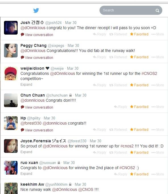 CNOS2 Tweets