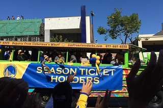 Golden State Warriors - Victory Parade Season tix holder