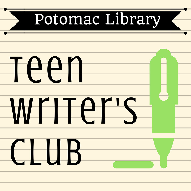 potomac library teen writers club