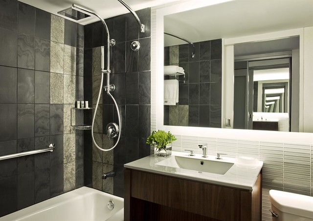 The Westin New York At Times Square Renovated Guestroom Ba