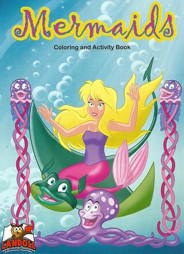 Landoll Publishing Company Quot Mermaids Quot Coloring Amp Activi