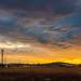 Sunset West of Spokane