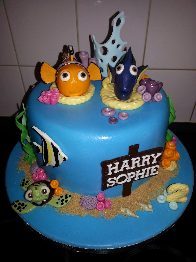 Happy Birthday Dori Cake
