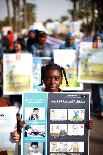Marching for Mine Awareness in Libya | by United Nations Development Programme