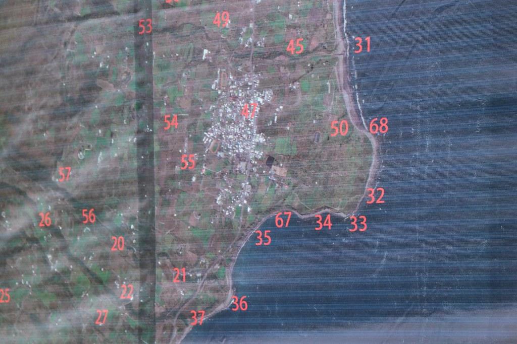 都蘭部落傳統領域地圖局部(都蘭鼻周遭)