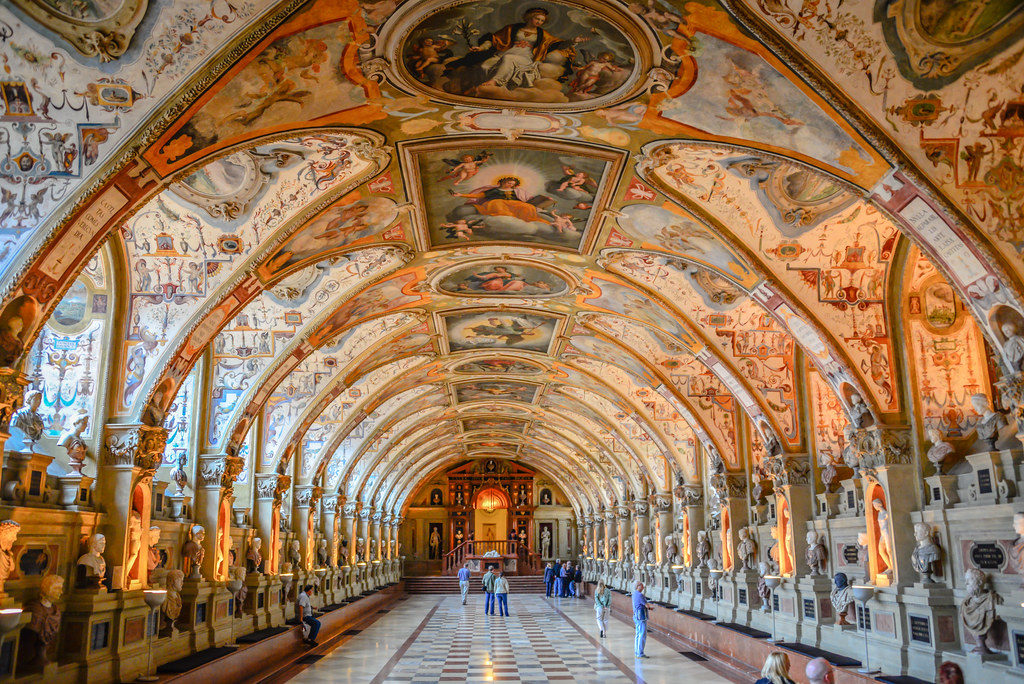 the antiquarium of the residenz royal palace munich germ flickr. Black Bedroom Furniture Sets. Home Design Ideas