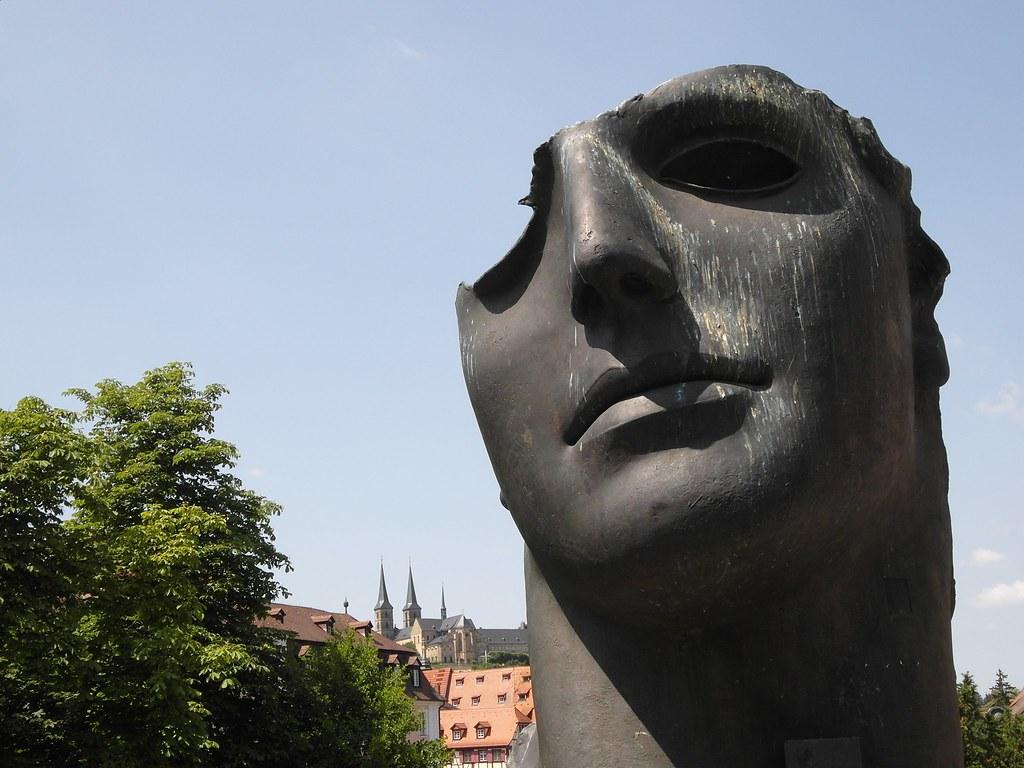 Badausstellung Bamberg sun statue bamberg germany flyingpast flickr